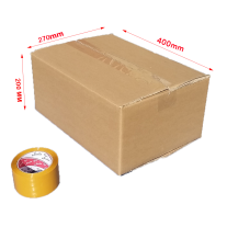 cartons 400x270x200 mm (5-Ply) 30 pcs cardboard boxes
