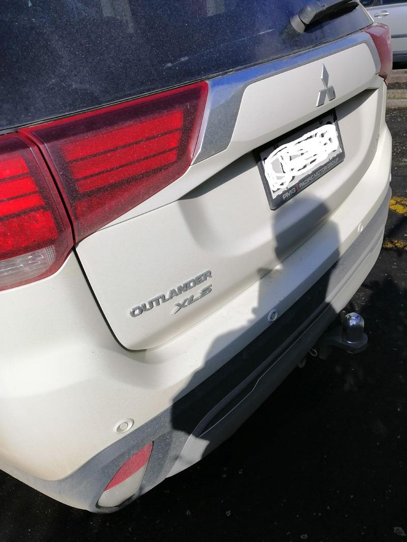 Mitsubishi Outlander Xls Roof rack
