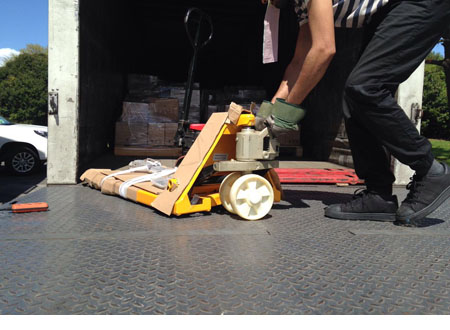Sold pallet jack to hamilton