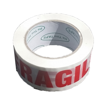 Fragile Tape 48x90 m One  Rolls   Printed Tape