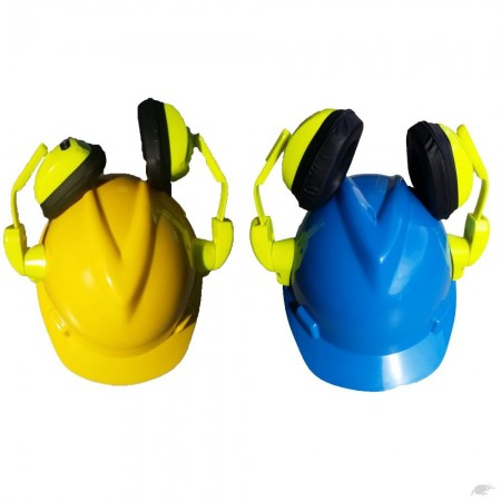 MSA Hard Hat with earmuff