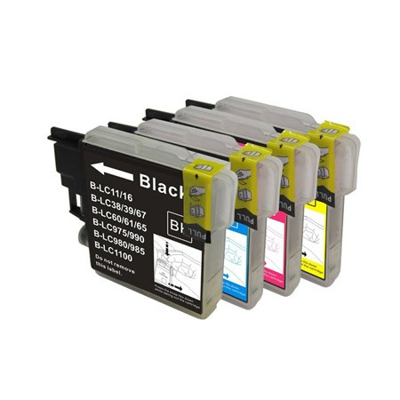 Brother LC39 /LC985 Ink Catridges Compatiable