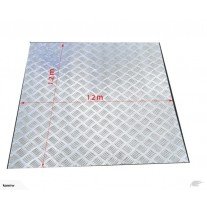 Aluminium checker plate 1200 mm x 1200 mm