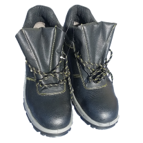 Safety Shoes With Steel Toe Cap And Steel Bottom