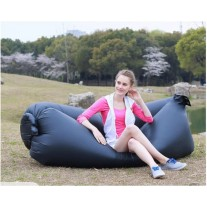 Air Sofa | Beach Sofa| Inflatable Couch | Lazy Lounger Black Color