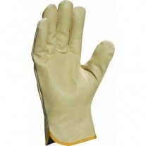 Leather pigskin gloves
