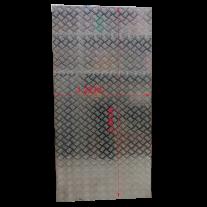 Aluminium checker plate 1220 mm x 2440 mm