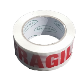 Fragile Tape 48x100 m One  Rolls | Printed Tape