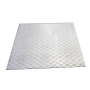 Aluminum checker plate 1.00 x 1.00 Meter