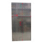 Aluminium checker plate 1000 mm x 2000 mm