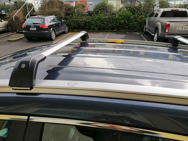 The noise of different roof rack