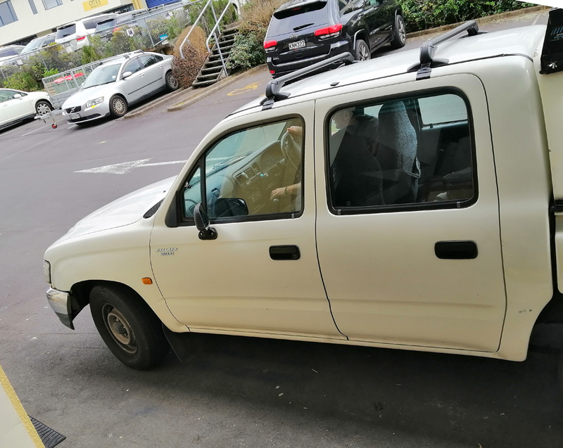 Toyota Hilux 3.0d Roof Rack