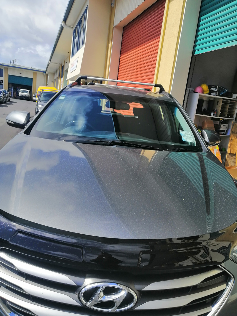 Hyundai Santa Fe Roof rack