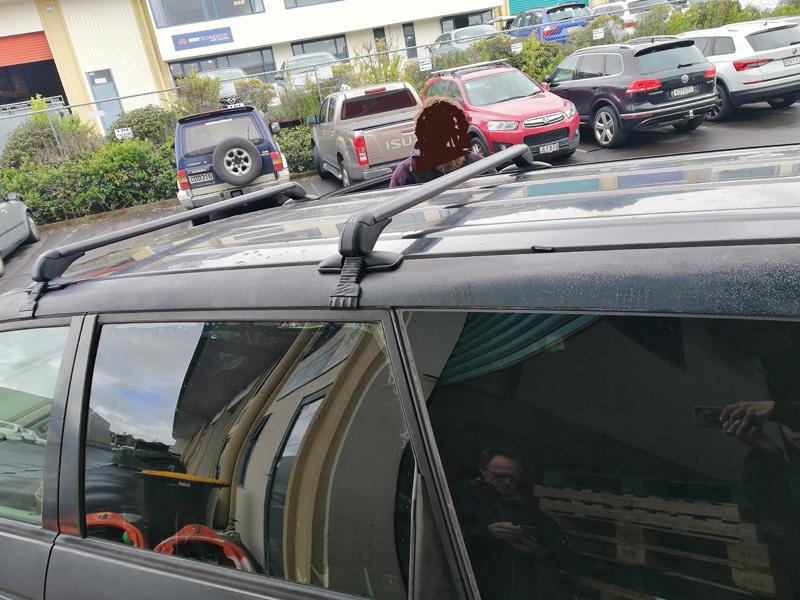 Honda odyssey roof rack