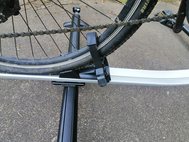 The installation instruction of bike rack